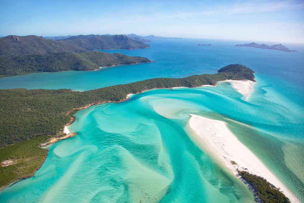 Most beautiful beaches - Whitehaven Beach