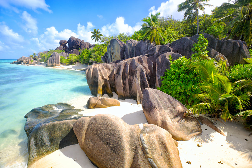 Most beautiful beaches - Seychelles
