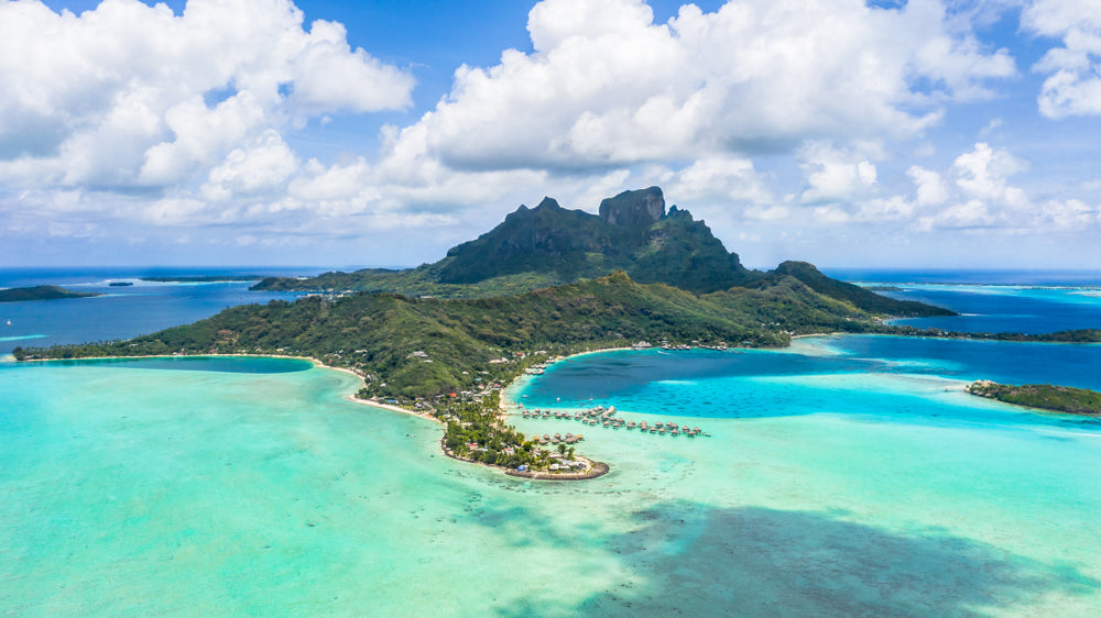 Most beautiful beaches - Matira Beach, Bora Bora