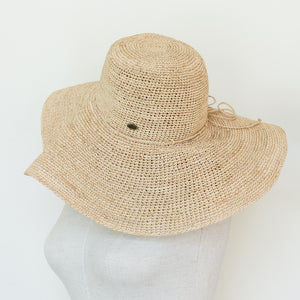 Hats - wide brim - made from straw - natural - Island Dreams