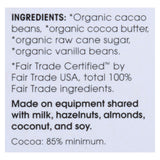 Alter Eco Americas Organic Chocolate Bar - Dark Blackout - 2.82 Oz Bars - Case Of 12