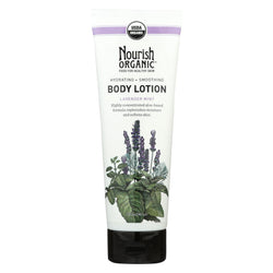 Nourish Organic Body Lotion Lavender Mint - 8 Fl Oz