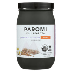 Paromi Tea - Organic - Roobios - Chamomile Lavender - Case Of 6 - 15 Bag