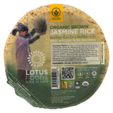 Lotus Foods Organic Brown Jasmine Rice - Case Of 6 - 7.4 Oz.