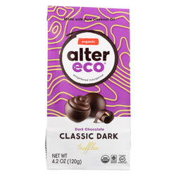 Alter Eco Americas Truffle - Organic - Black - 10 Pack - 4.2 Oz - Case Of 8