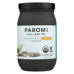 Paromi Tea - Detox With Me - Caffeine Free - Case Of 6 - 15 Bag