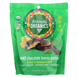 Heavenly Organics Organic Honey Patties - Mint Chocolate - Case Of 6 - 4.66 Oz.
