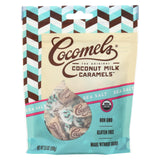 Cocomel - Organic Coconut Milk Caramels - Sea Salt - Case Of 6 - 3.5 Oz.