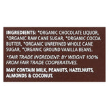 Equal Exchange Organic Chocolate Bar - Very Dark - Case Of 12 - 2.8 Oz.