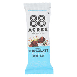 88 Acres - Bars - Chocolate And Sea Salt - Case Of 9 - 1.6 Oz.