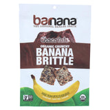 Barnana Ban Brittle - Organic - Chocolate - Case Of 10 - 3.5 Oz