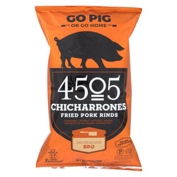4505 - Pork Rinds - Chicharones - Smokehouse Bbq - Case Of 12 - 2.5 Oz