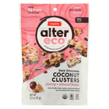 Alter Eco Americas Chocolate - Organic - Dark Cherry Almond Clusters - Case Of 12 - 3.2 Oz