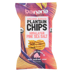 Barnana Plantain Chips - Himalayan Pink Sea Salt - Case Of 8 - 5 Oz.