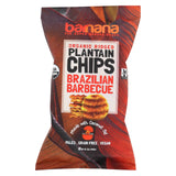 Barnana Plantain Chips - Bbq - Case Of 8 - 5.0 Oz.