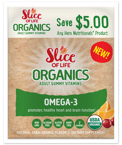 Slice of Life Organics - Omega 3 with Chia Seed (Adults)