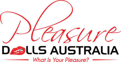 Pleasure Dolls Australia Home Page Logo image