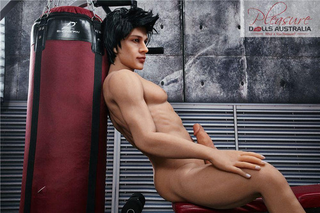 CHARLES (GYM)<br>162cm Irontech Male Sex Doll - Pleasure Dolls Australia