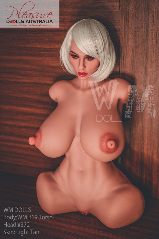 FLAVIA - 82cm WM Dolls 'Nipple Sex' <br>Upper Body Sex Torso - Pleasure Dolls Australia