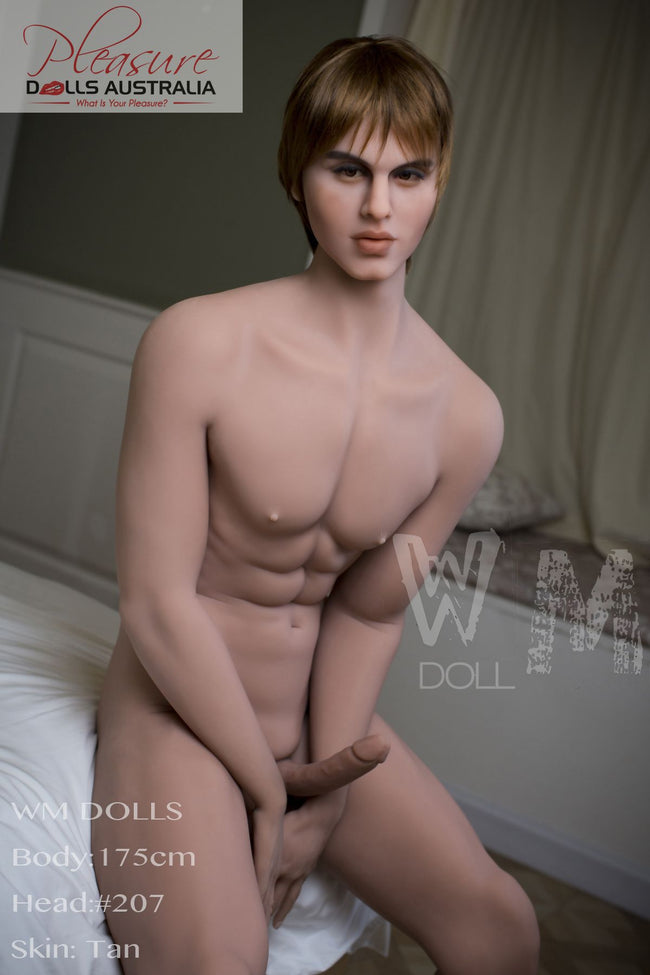 RYAN - 175cm<br>WM Male Sex Doll - Pleasure Dolls Australia