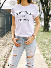 Load image into Gallery viewer, Raising Little Gems Adult Short-Sleeve Unisex T-Shirt - North Jems