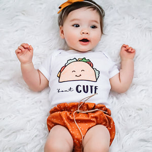 Taco Bout Cute Baby Onesie / T-shirt - North Jems