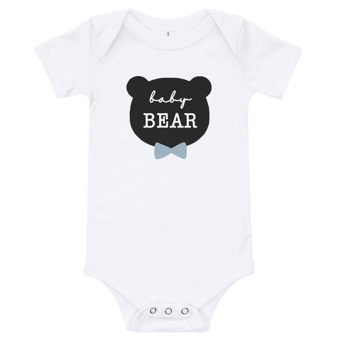 Baby Bear or Littlest Bear (Bow Tie) Baby Onesie / T-shirt - North Jems
