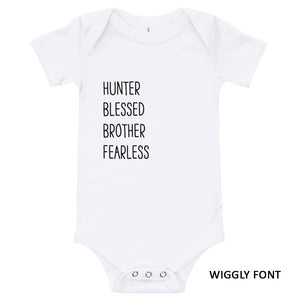 Personalized Message Baby Onesie - North Jems