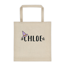 Load image into Gallery viewer, Hey Boo! Personalized Halloween Canvas Tote bag - North Jems