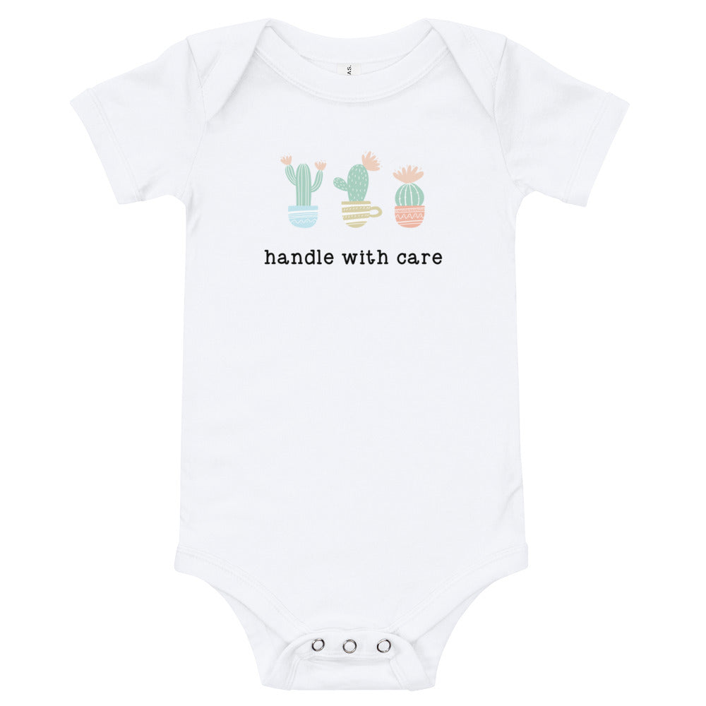 Handle With Care Baby Onesie - North Jems