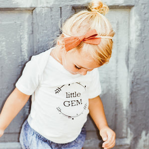 Little Gems Signature Baby Onesie / T-shirt - North Jems
