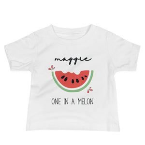 Personalized One In Melon Baby Onesie / T-shirt - North Jems