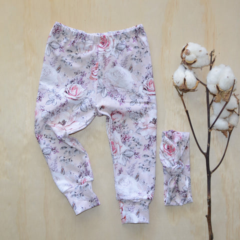 Leggings - Pink Alaska
