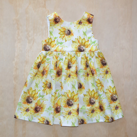 Tea Dress - Sunflowers
