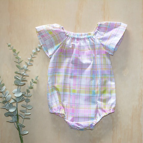 Romper - Colourful Gingham