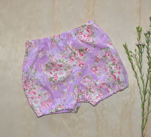 Sadie Shorts - Pink & Purple