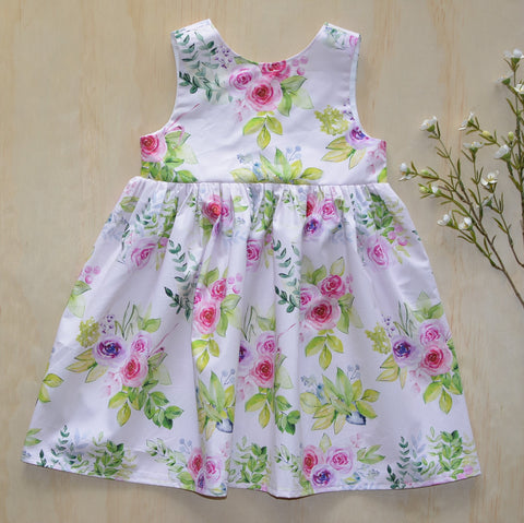 Tea Dress -  Summer floral