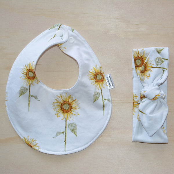 Top Knot Headband - Sunflower