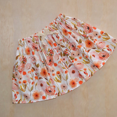 Simple Twirly Skirt - Meadow