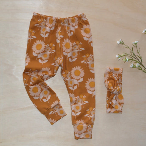 Leggings - Sunflower Retro