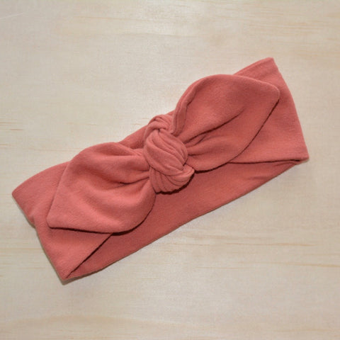 Top Knot Headband - Terracotta