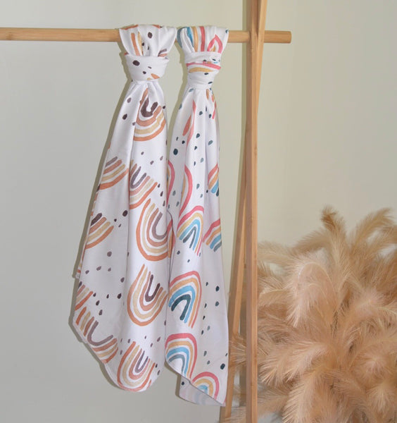 Swaddle / Wrap - Rainbow Print