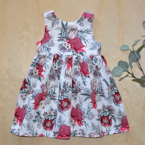 Tea Dress - Australian Christmas Floral