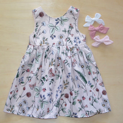 Tea Dress - Spring Meadow