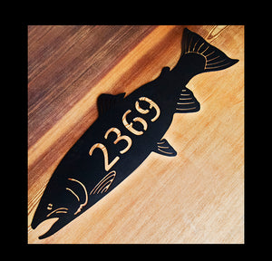 Steelhead, Address Sign