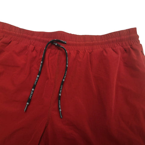 Men's Wine Active Shorts