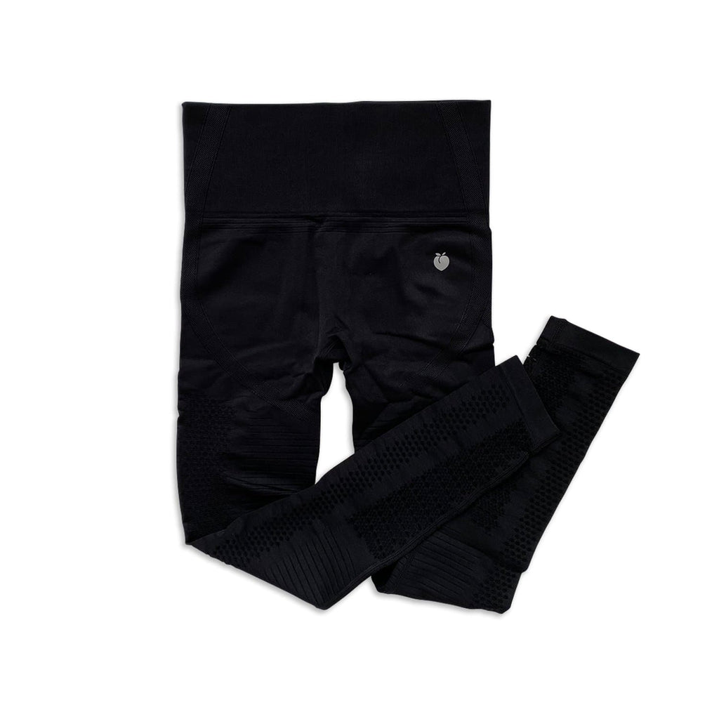 Ribbed Seamless Pant - Black
