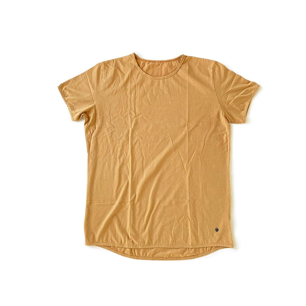 Men's EVERYDAY Acid Wash Tee - Caramel