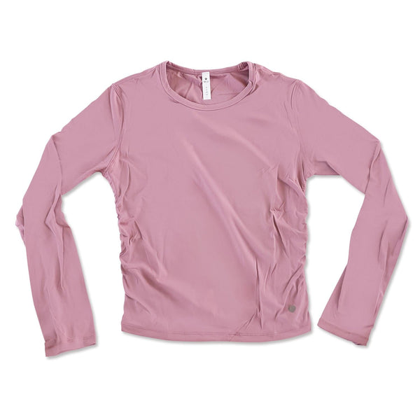 Long Sleeve Active Tee - Baby Pink