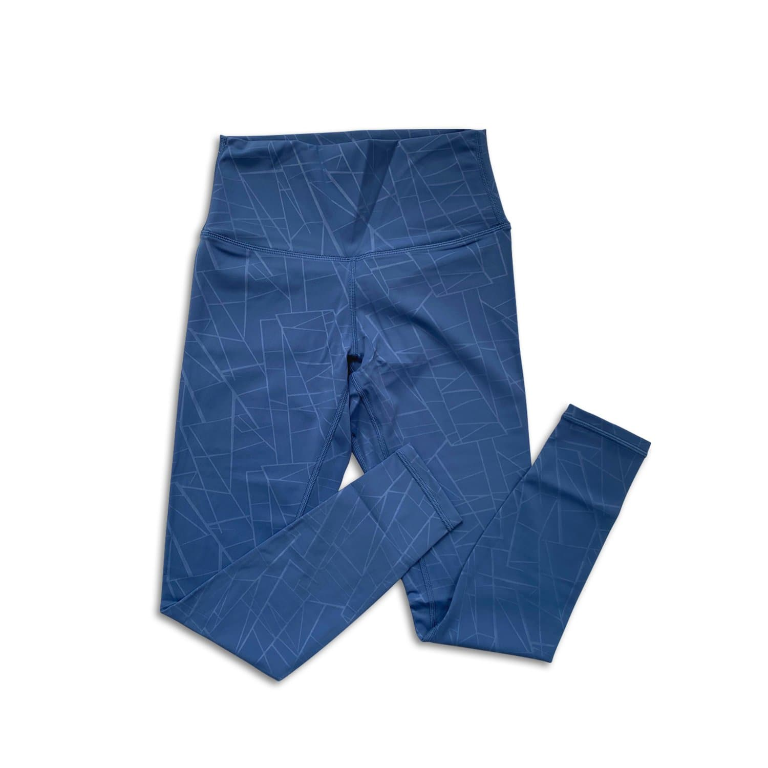 Bare Classic 7/8 Pant - Blueberry Geometric